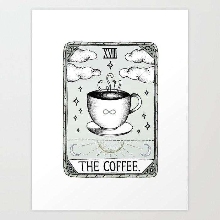 The Coffee Kunstdrucke