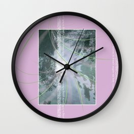 Hell//Heaven Wall Clock