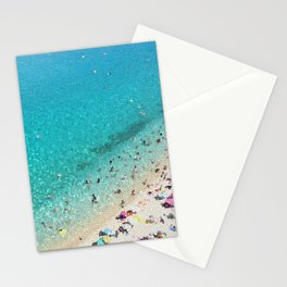 italian beach Stationery Cards