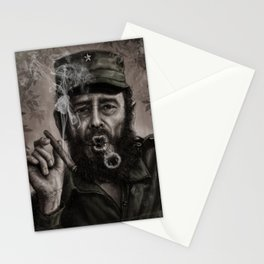 Fidel Castro Stationery Cards