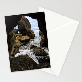 Ruby Beach Sea Cave Stationery Cards