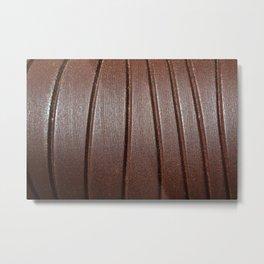 Metal Curves Metal Print