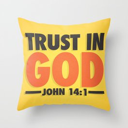 Trust in God Throw Pillow