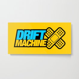 Drift Machine v1 HQvector Metal Print