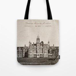 Danvers State Hospital (Danvers Lunatic Hospital), Kirkbride Tote Bag