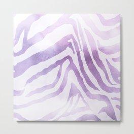 Zebra Print Metal Print
