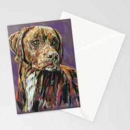 Chocolate Labrador Stationery Cards