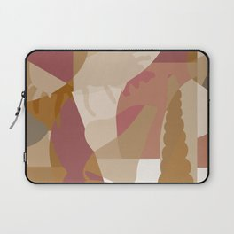 Beach Vibes - Neutral Modern Abstract Bybrije Laptop Sleeve