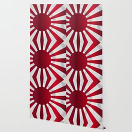 Japanese Rising Sun Flag Wallpaper