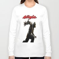 ninja Long Sleeve T-shirts featuring Ninja by Afaalstore