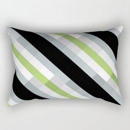 PRIDE - Agender Rectangular Pillow