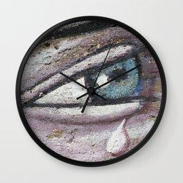 Tears Wall Clock