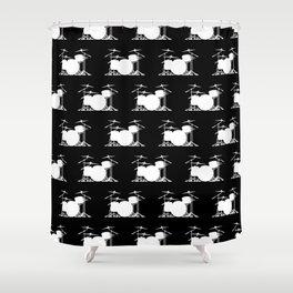 Drum Set Shower Curtain