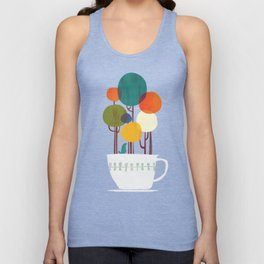 Life in a cup Unisex Tank Top