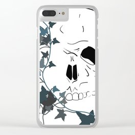 Half Dead Clear iPhone Case