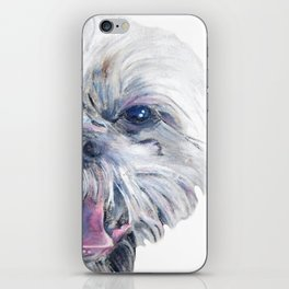 I spy a shih tzu iPhone Skin