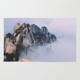 Cliffs In The Clouds Rug
