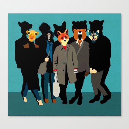 The gang Canvas Print