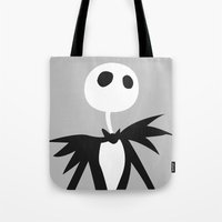 jack Tote Bags featuring Jack by Polvo
