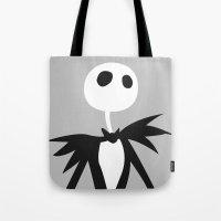 jack daniels Tote Bags featuring Jack by Polvo