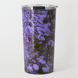 Royal Pines with Saturation, Warmify, and Glow Filters Travel Mug