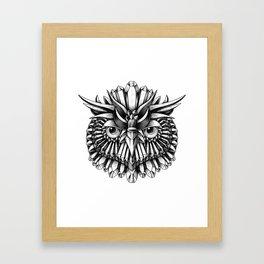 Crystal Owl Framed Art Print