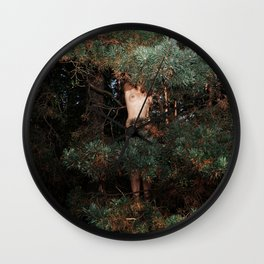 The Eyes of the Forest Wall Clock