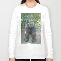 gorilla Long Sleeve T-shirts featuring Gorilla by Sean Foreman