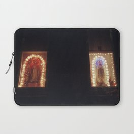 casual south philly window decorations Laptop Sleeve