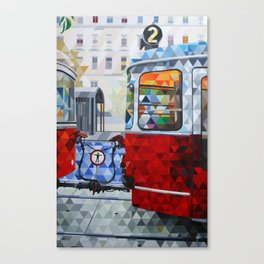 La Estacion, The Station Canvas Print