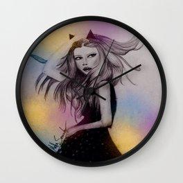 watercolor`s life Wall Clock