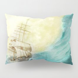 Through Stormy Waters Pillow Sham