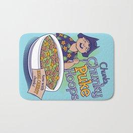 Chunk's Chunky Puke Hoops Bath Mat