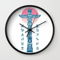 Totem Ressurection Wall Clock