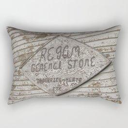General Store, Regan, North Dakota 6 Rectangular Pillow