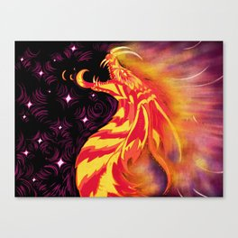 Rise From The Ashes Canvas Print
