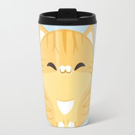 Orange Cat Travel Mug