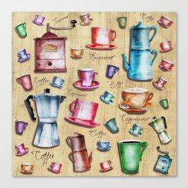 Coffee time! 2.0 Canvas Print