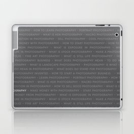 Strong Photography Keywords Marketing Laptop & iPad Skin