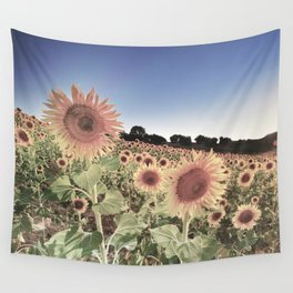 """""""Sunflowers"""" Vintage summer.... Wall Tapestry"""