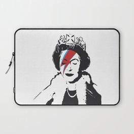 Queen Elizabeth As Ziggy, Banksy, Streetart Street Art, Stardust Grafitti, Artwork, Design For Men, Laptop Sleeve