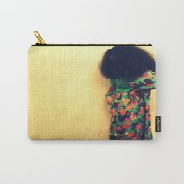 Afro : Vintage Style Carry-All Pouch