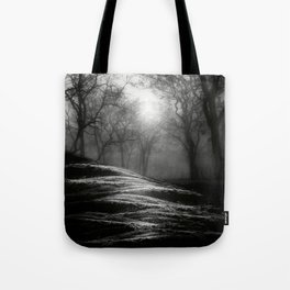 Black and White - From small beginnings and big endings Tote Bag