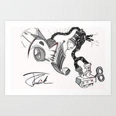 Car2oon Art Print