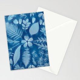 Indigo Solar Print Stationery Cards