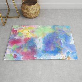 light watercolor Rug