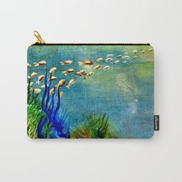 Fish Swarm Carry-All Pouch