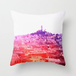 Crayola Skyline Throw Pillow