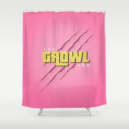 GROWL Shower Curtain
