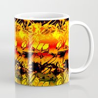 africa Mugs featuring Africa. by Assiyam